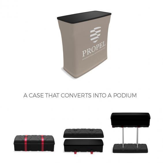 Counter Podium FabTex ca500 counter podium example