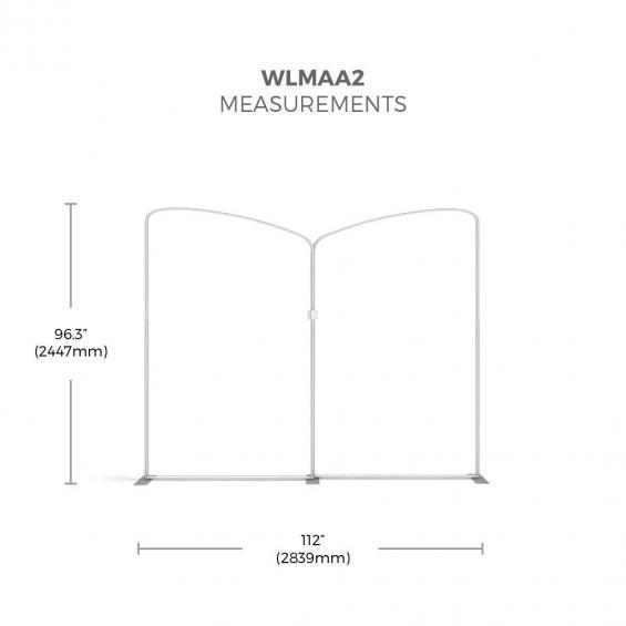 FabTex Exhibition Stand Kit 3m wlmaa2 framework
