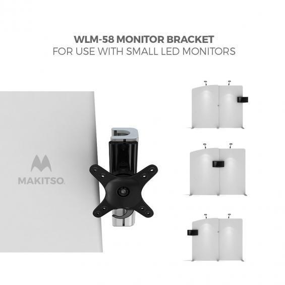 FabTex Exhibition Stand Kit 6m wlm 58 monitor bracket