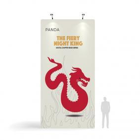 FabTex Giant Fabric Display 3m x 6.1m front