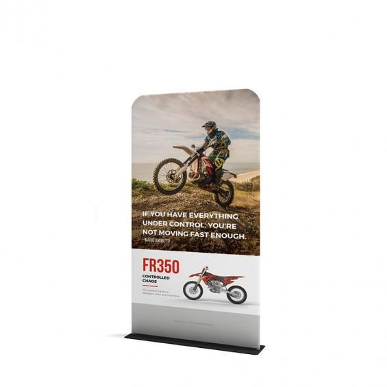 FabTex banner stand tension fabric display 48 89