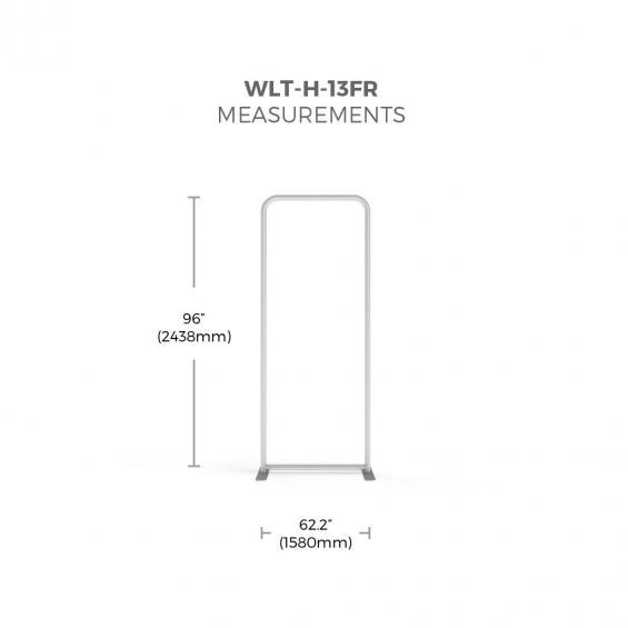 FabTex wavelight backlit display frame size 13f