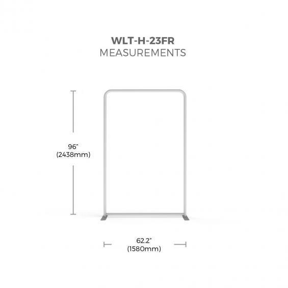 FabTex wavelight backlit display frame size 23f