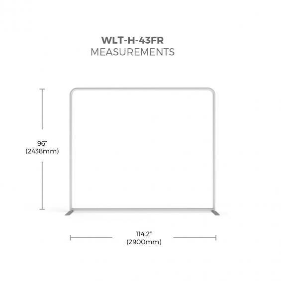 FabTex wavelight backlit display frame size 43f