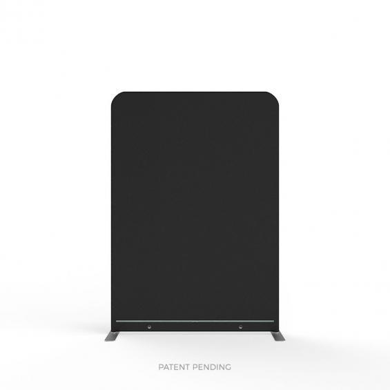 FabTex wavelight backlit display stand blockout back
