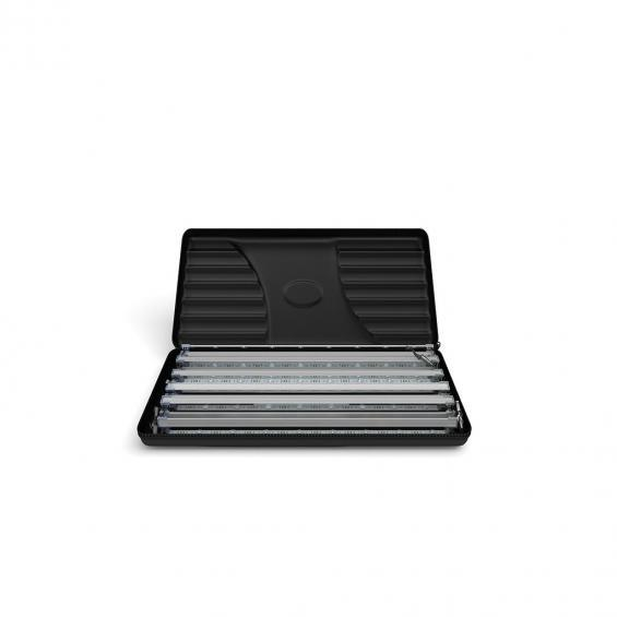 FabTex wavelight backlit display stand led light case open 2