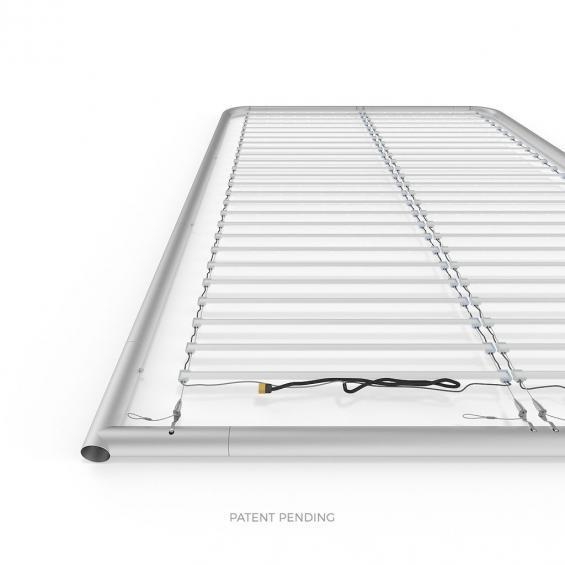 FabTex wavelight backlit display stand led lights frame