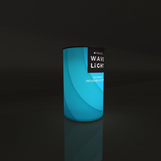 WaveLight Inflatable LED Backlit Counter Circular 01