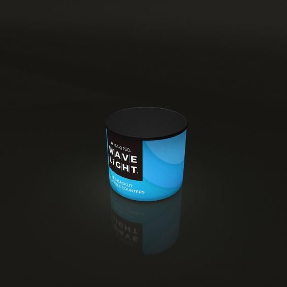 WaveLight Inflatable LED Backlit Counter Circular Mini 02