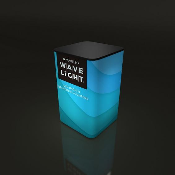 WaveLight Inflatable LED Backlit Counter Square 02