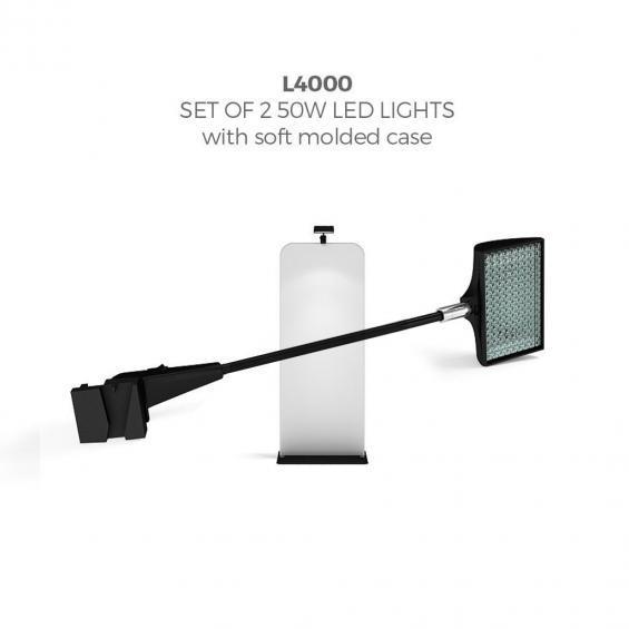 brandstand l4000 FabTex banner stand light
