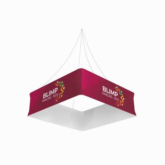 FabTex Blimp Quad Hanging Sign 1