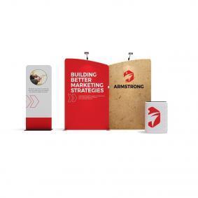 FabTex Exhibition Stand Kit 3m wlmaa2 5