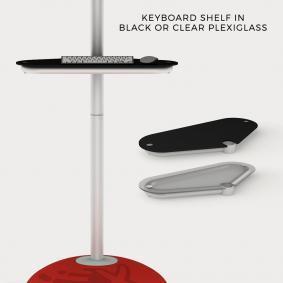 FabTex monitor stand keyboard Shelf 1024x1024