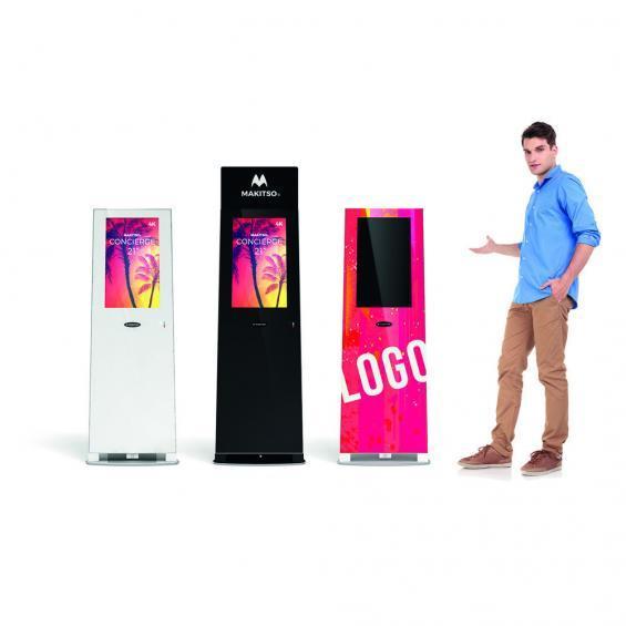 concierge 21 inch digital kiosk collection