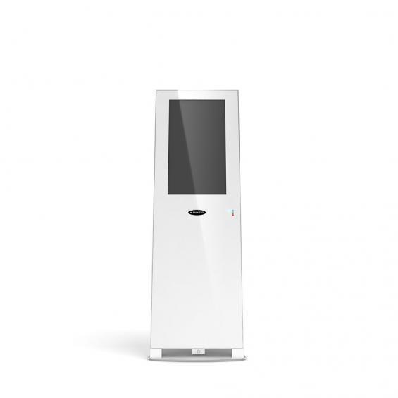 concierge 21 inch digital kiosk white 1