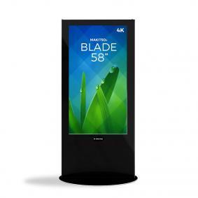 iD blade pro digital signage kiosk 4k 58 b