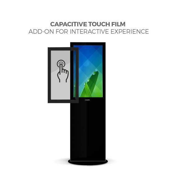iD blade pro digital signage kiosk touch screen 32 b
