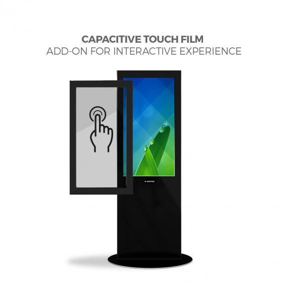 iD blade pro digital signage kiosk touch screen 40 b