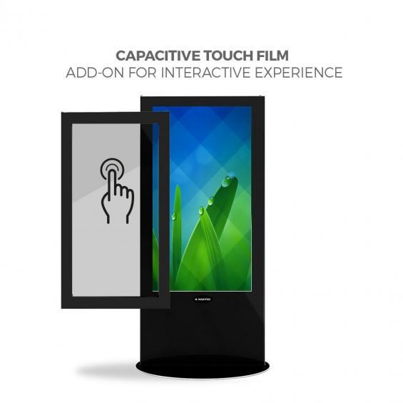 iD blade pro digital signage kiosk touch screen 58 b
