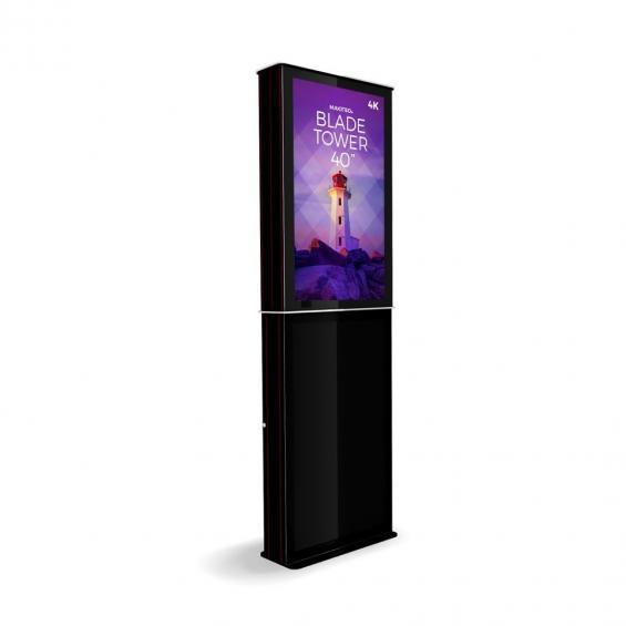iD blade tower digital signage kiosk 4k 40 b2