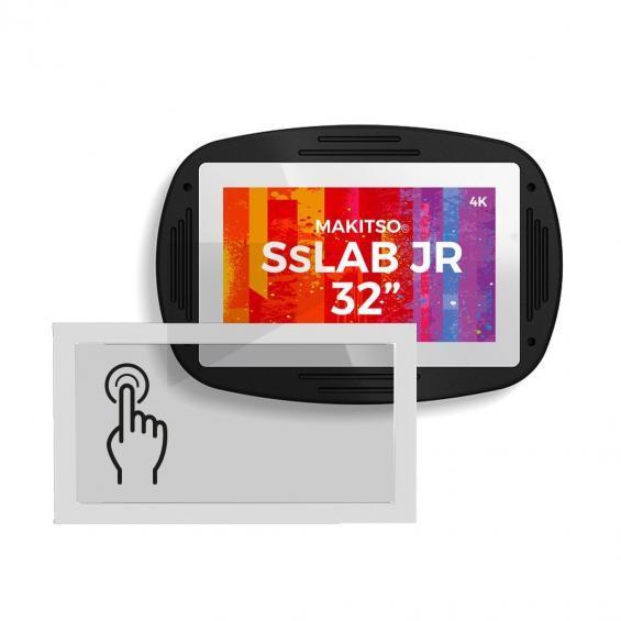 iD sslab jr pro digital signage kiosk 4k touch screen