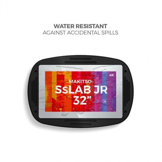 iD sslab jr pro digital signage kiosk 4k water resistant