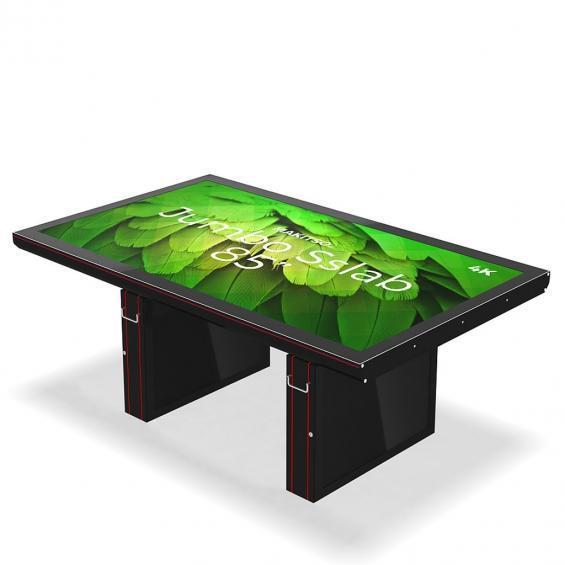 iD sslab jumbo pro digital signage table 4k a