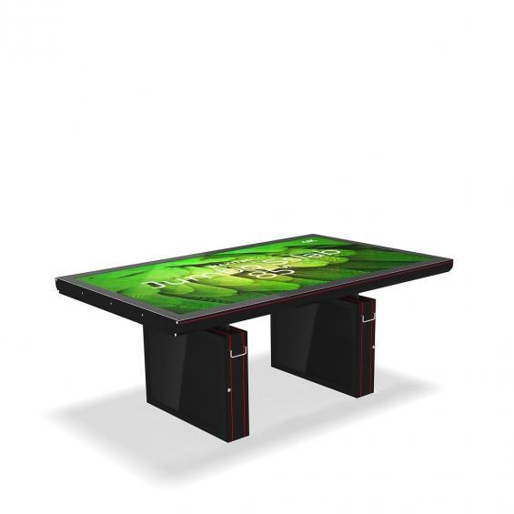 iD sslab jumbo pro digital signage table 4k b