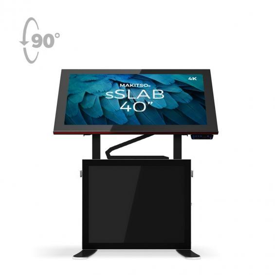 iD sslab pro digital signage kiosk 4k 40 b