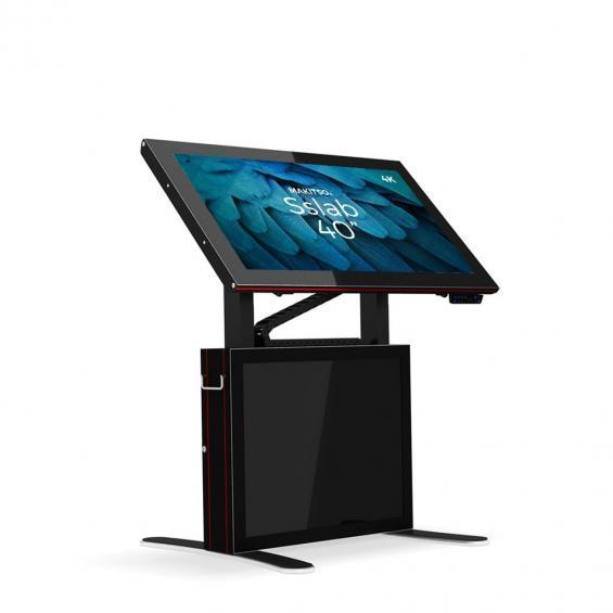 iD sslab pro digital signage kiosk 4k 40 b1