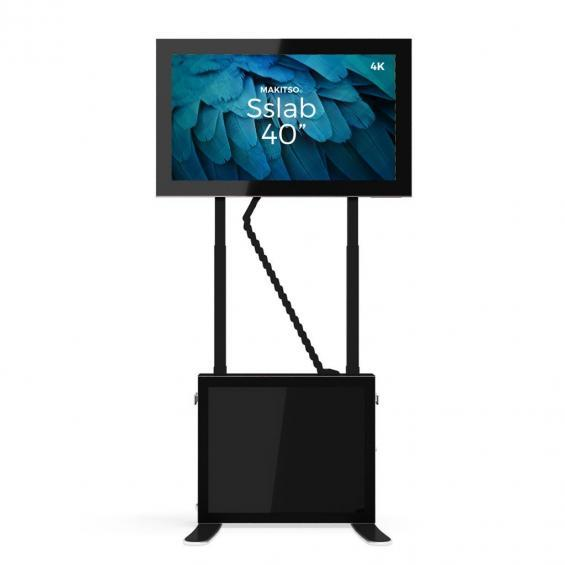 iD sslab pro digital signage kiosk 4k 40 b4