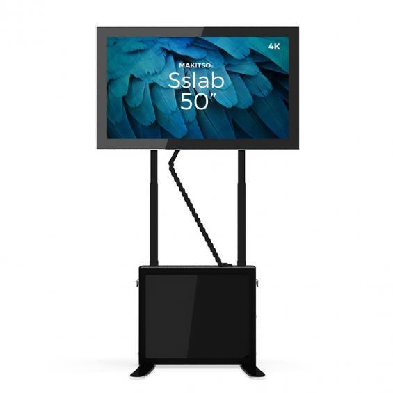iD sslab pro digital signage kiosk 4k 50 b4