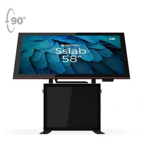 iD sslab pro digital signage kiosk 4k 58 b