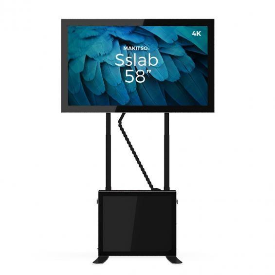 iD sslab pro digital signage kiosk 4k 58 b4