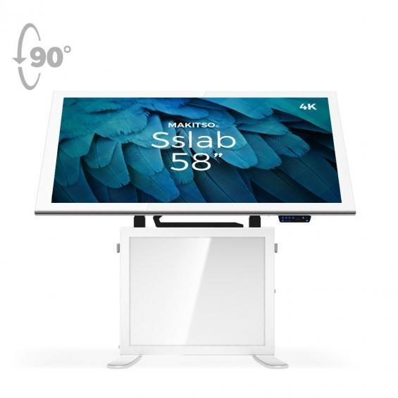 iD sslab pro digital signage kiosk 4k 58 w