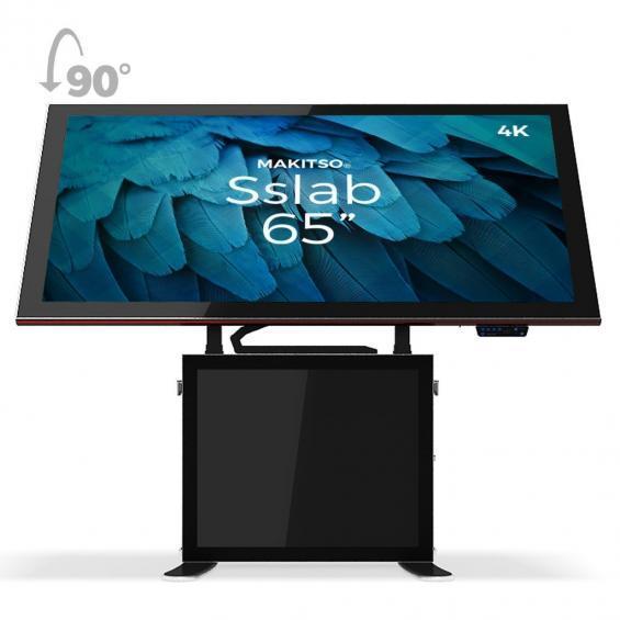 iD sslab pro digital signage kiosk 4k 65 b