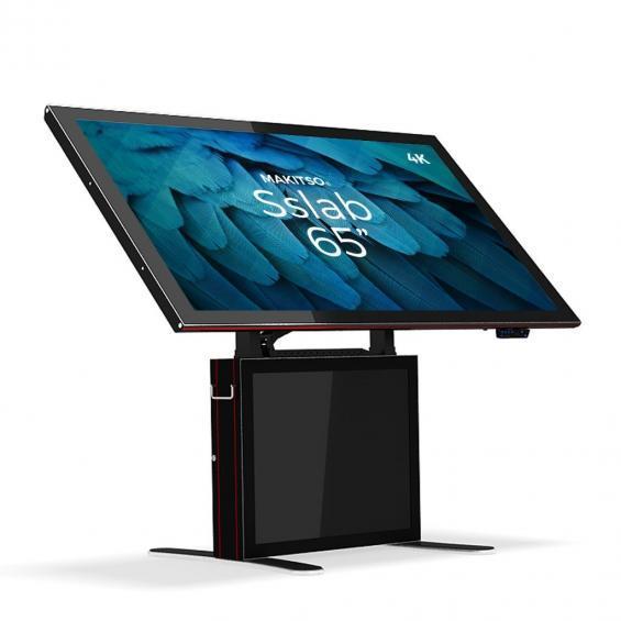 iD sslab pro digital signage kiosk 4k 65 b1