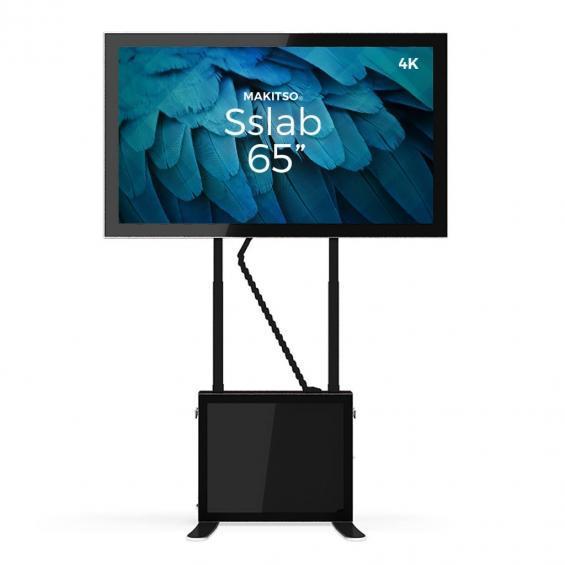 iD sslab pro digital signage kiosk 4k 65 b4