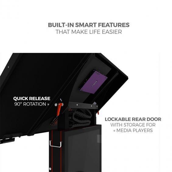 iD sslab pro digital signage kiosk 4k features