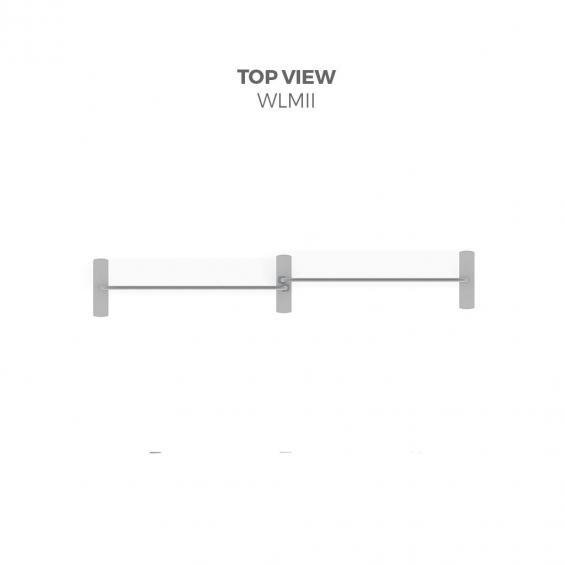 FabTex Exhibition Stand Kit 3m wlmii top view