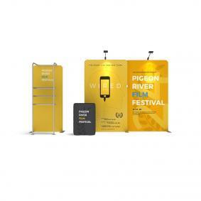 FabTex Exhibition Stand Kit 3m wlmkk 3