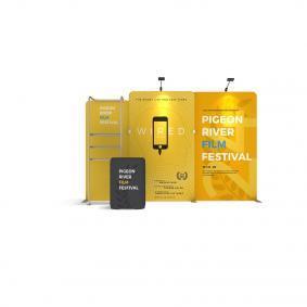 FabTex Exhibition Stand Kit 3m wlmkk 3b