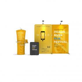 FabTex Exhibition Stand Kit 3m wlmkk 4