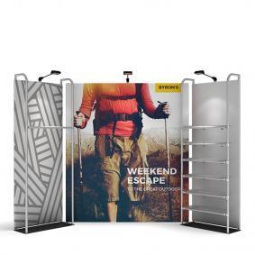 FabTex Retail merchandiser pop up store display 14ft n 2
