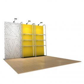 FabTex Retail merchandiser pop up store e