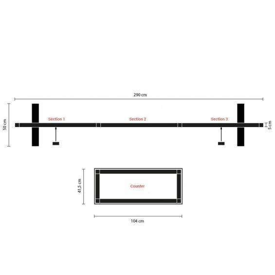 QuickStand Modular Display Kit 1 Plan