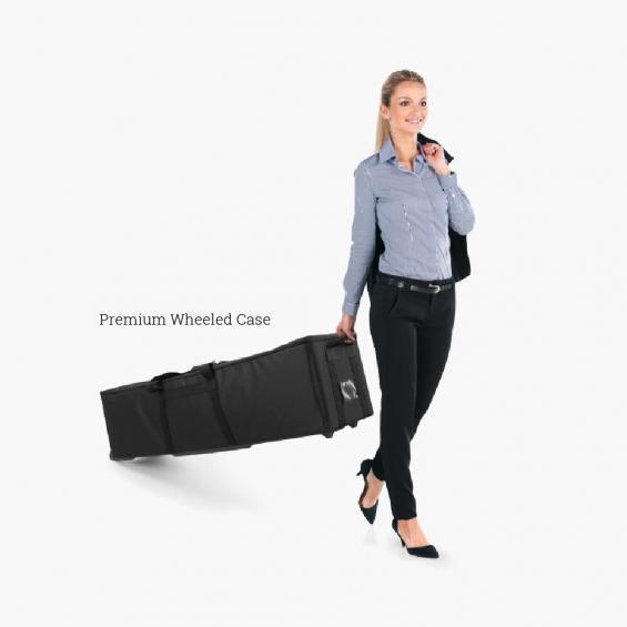 QuickStand Premium Wheeled Case