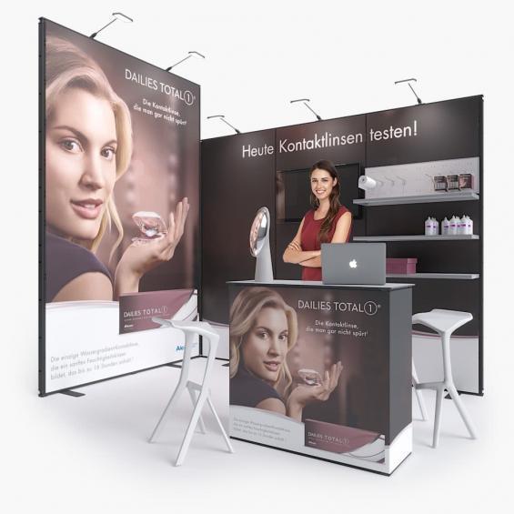 QuickStand Kit 17 Modular Exhibition Stand 3x2