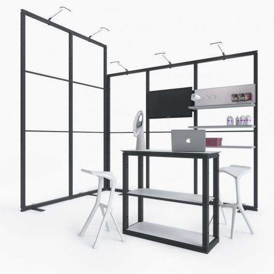 QuickStand Kit 17 Modular Exhibition Stand 3x2 Framework